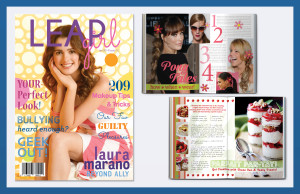 Leap Girl Magazine: Print Layout