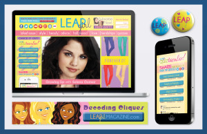 Leap Girl Magazine: Web & Mobile