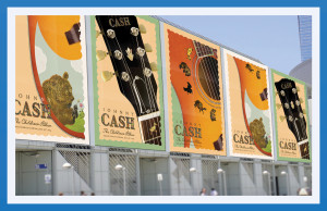 Johnny Cash Children's Album Posters