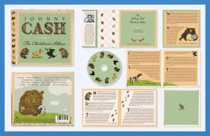 Johnny Cash Children's Album CD Package