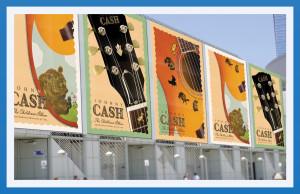 Johnny Cash Children's Album Posters